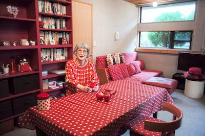 角野栄子の自宅