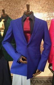 ルパンの青いジャケット