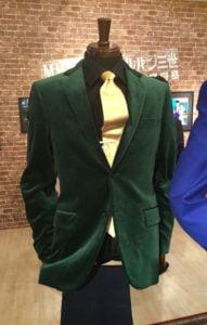 ルパンの緑のジャケット